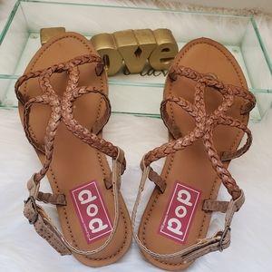 Pop flat Sandals